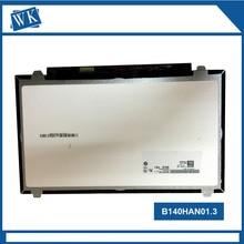 Nowy Ekran LCD Laptopa B140HAN01.1 LTN140HL02 B140HAN01.2 B140HAN01.3 LP140WF1 SPB1 N140HCE-EAA N140HCE-EAB 1920*1080 ekran IPS