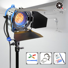 ALUMOTECH 300W 3200K As ARRI Fresnel Tungsten Spot Lighting+Bulb For Video Studio Camera Photography Lamp(China)