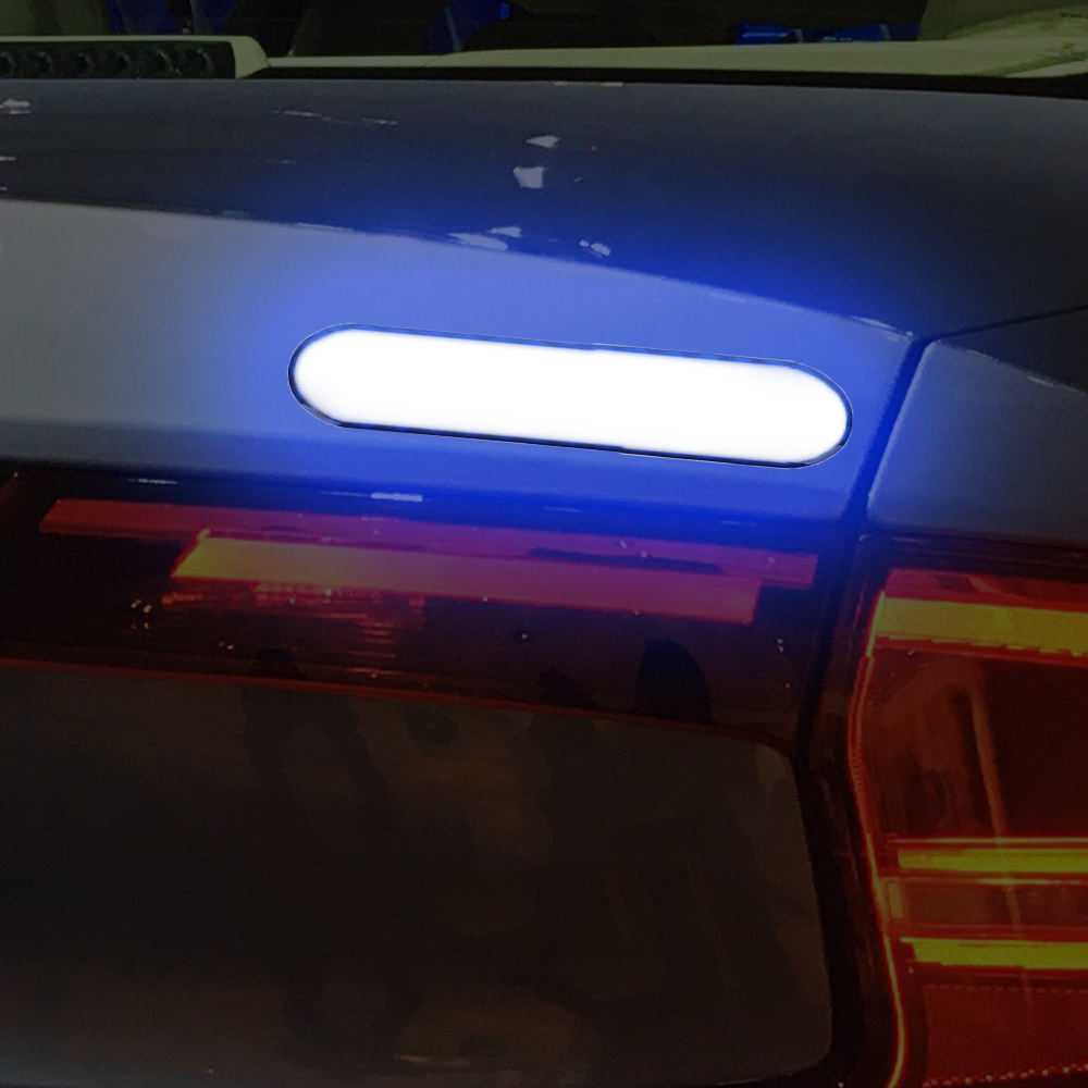 FORAUTO 2pcs Car Door Sticker Decal Warning Tape Car Reflective Stickers Reflective Strips Car-styling 4 Colors Safety Mark 10