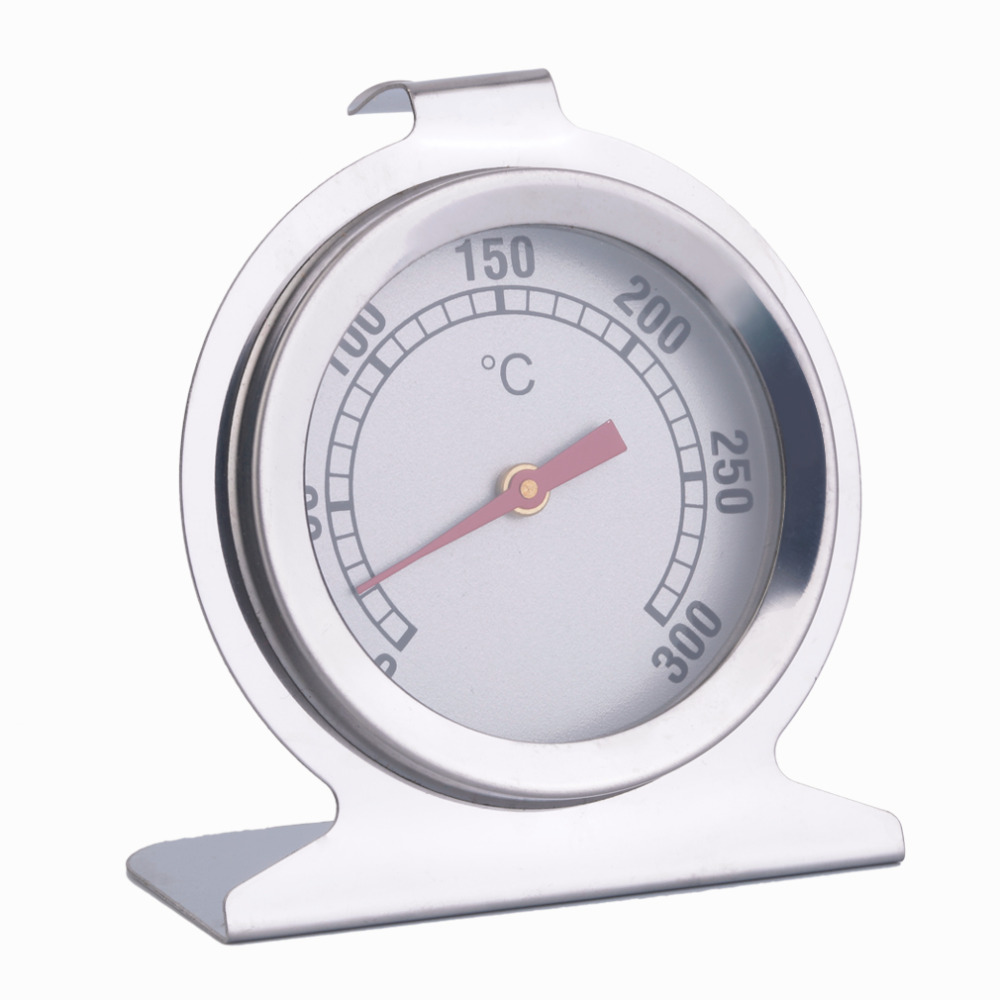 Stainless Steel Dial Oven Thermometer Cooking Termometer Grill Food Meat Thermometer Adjustable Stand Up Hange Thermomer