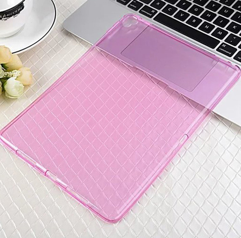 ocube Ultra Thin font b Tablet b font Accessories Crystal Clear Transparent Shell TPU Soft Case