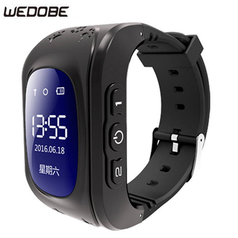 WEDOBE Q-50 GPS Smart Kid Safe Smart Watch SOS Call Location Finder Locator Tracker for Child Anti Lost Monitor Baby Wristwatch