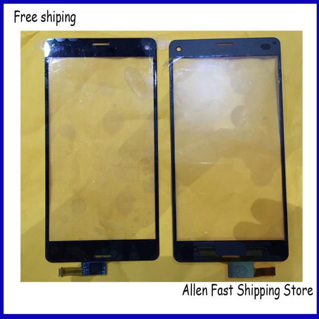 Original para Sony Xperia Z3 compacto D5803 D5833 pantalla táctil vidrio del Panel táctil digitalizador + herramientas de reparación, envío gratis