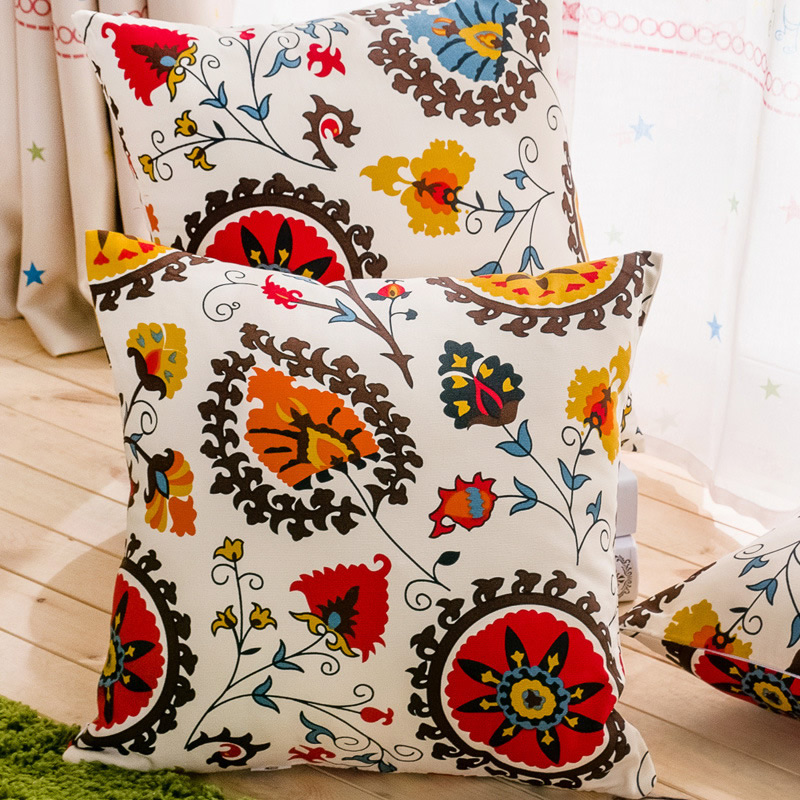 National Sunflower Pillowcase Throw Cushion Cover Car Sofa Pillow Case Home Decor F
