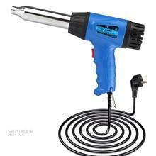 700W CE RoHS Quality Powertemperature heat gun bumper PP PVC plastic welding torch welding thermal duct welding gun