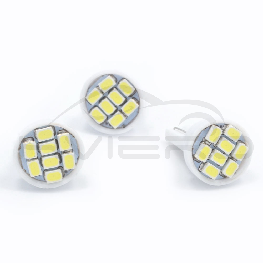 Image 3 - high quality Led 10X  8 smd 1206 8leds 8SMD Auto Interior Light 194 168 192 W5W 3020 Auto Wedge Lighting DC 12V Hot sale-in LED Bulbs & Tubes from Lights & Lighting