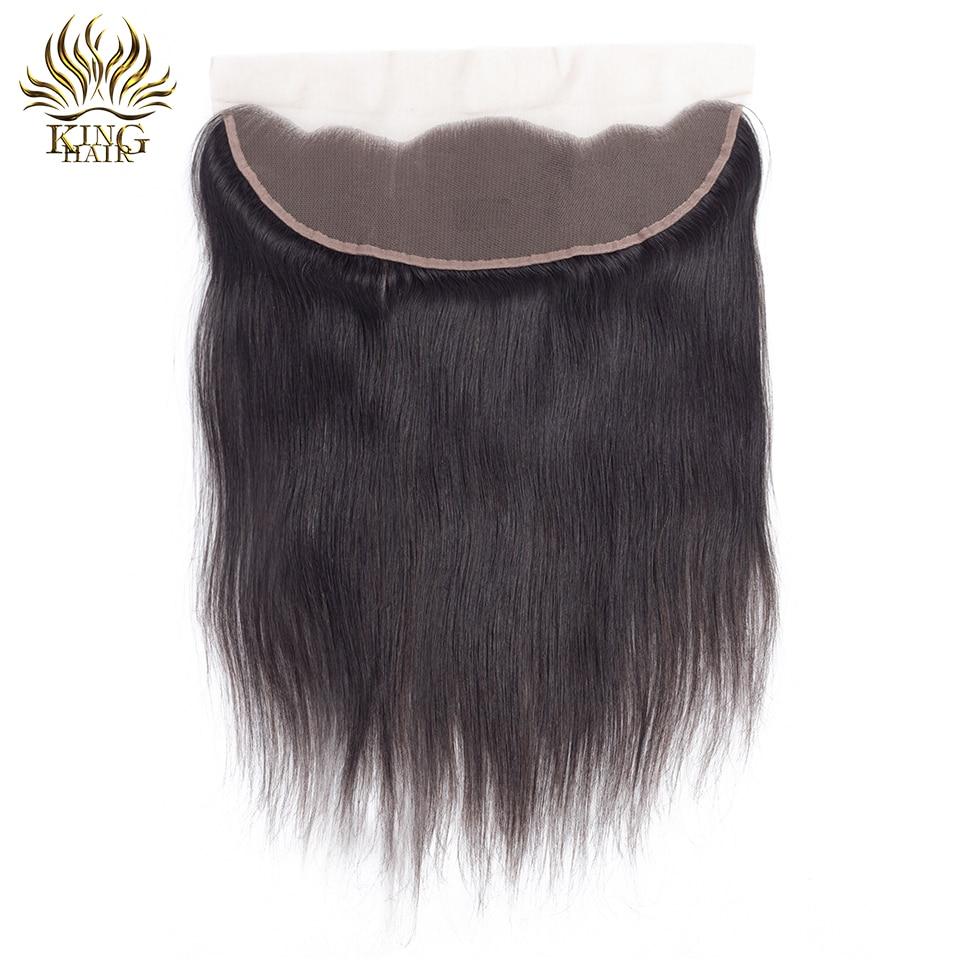 סגול שיער בלייזר עם שיער בייבי 13x4 אוזן - שיער אנושי שחור