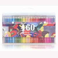 120 160 Colors Wood Colored Pencils Set Lapis De Cor Artist Painting Oil Color Pencil For