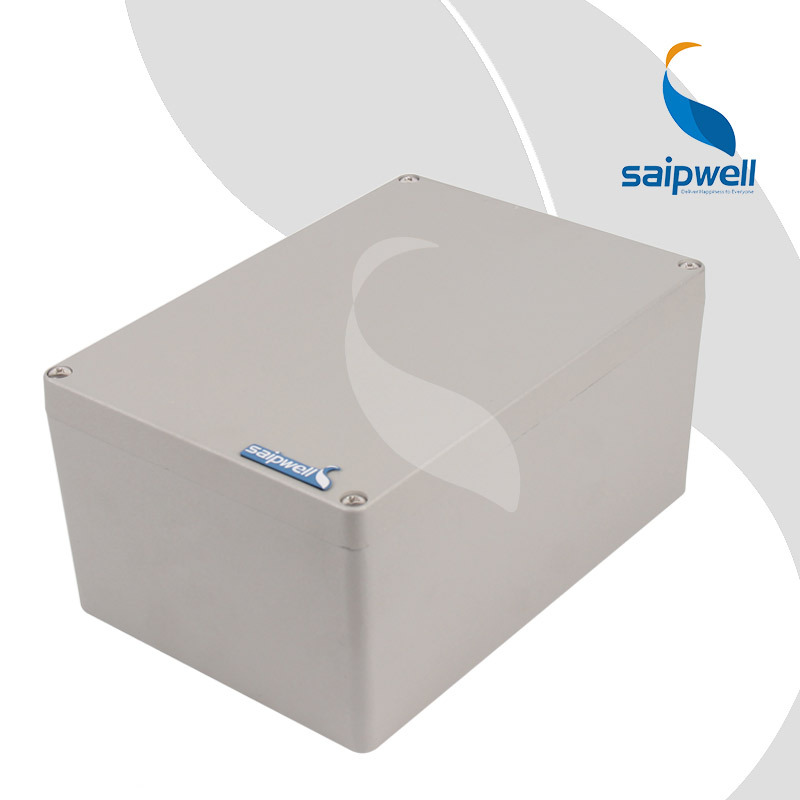 260 185 128 mm Painting Spraying Aluminum Enclosure Waterproof Project Box Enclosures for Electronics SP AG
