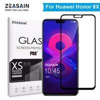 Настоящий zeasain 9 H закаленное стекло для huawei Honor 8X Honor8X 8 X защитная пленка для мобильного HD четкость Закаленное стекло пленка