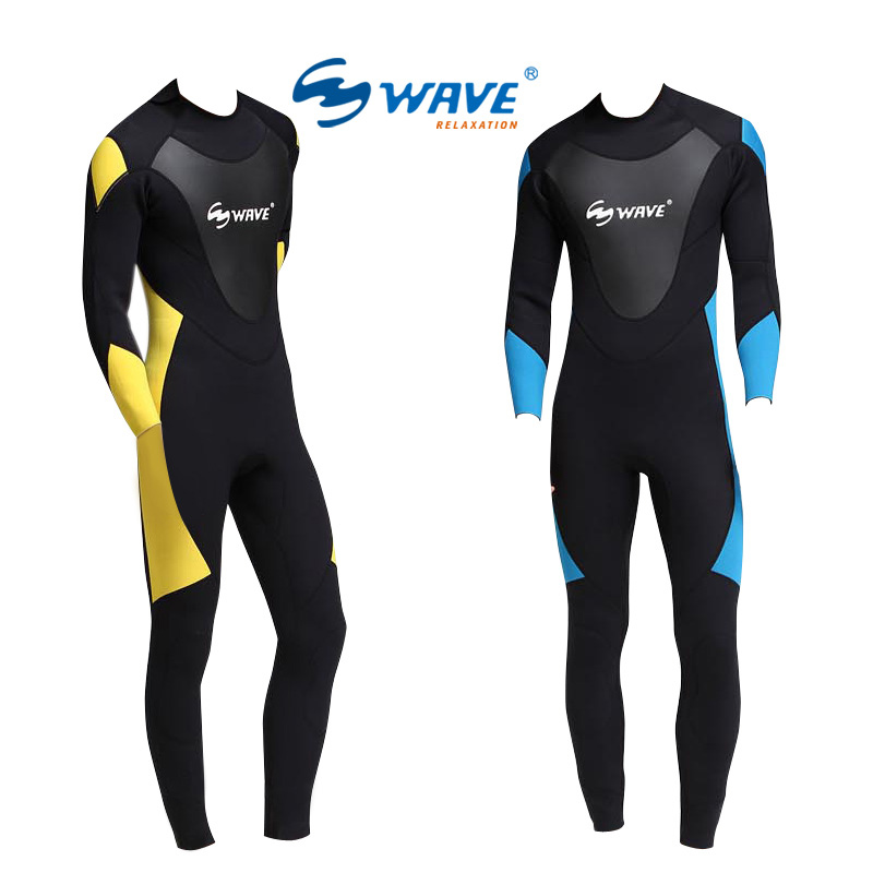 Men Neoprene 2.2MM Scuba dive Wet suit Lovers Wetsuit Equipment Snorkeling Jumpsuit One piece Triathlon Spearfishing Surf sun protection full body stinger suit dive skin with hood lycra wetsuit nylon swimwear one piece jump suit for scuba snorkeling
