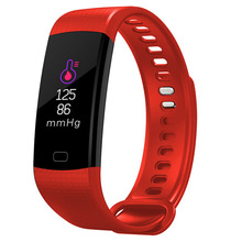 New Smart sport wristband color OLED screen motion record tracking heart rate blood pressure health monitoring information push