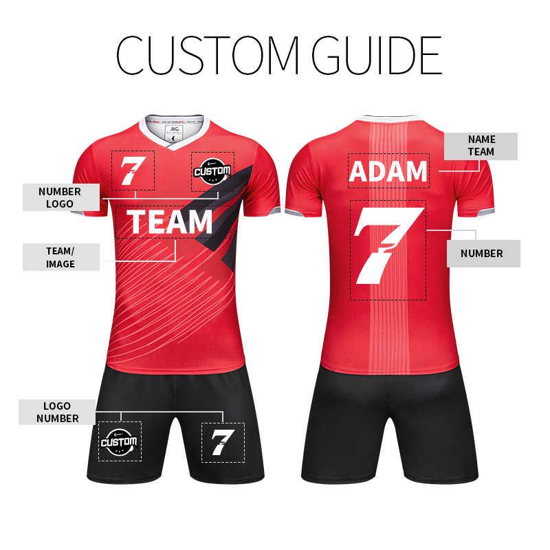 ae2ebf60e4d ... Jersey Football 2019 France Jersey Chandal Futbol Men Soccer Uniform  Custom Sport Shirt Professional Team Training ...