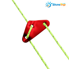 100 pcs ShineTrip Triangle Aluminum Alloy Camping Wind Rope Buckle Tent Windstopper Adjuster Tentorial Wigwam EDC