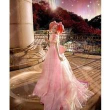 Аниме сейлор мун сейлор Chibimoon тиби уса косплей костюм вечернее платье sl бесплатная доставка новый