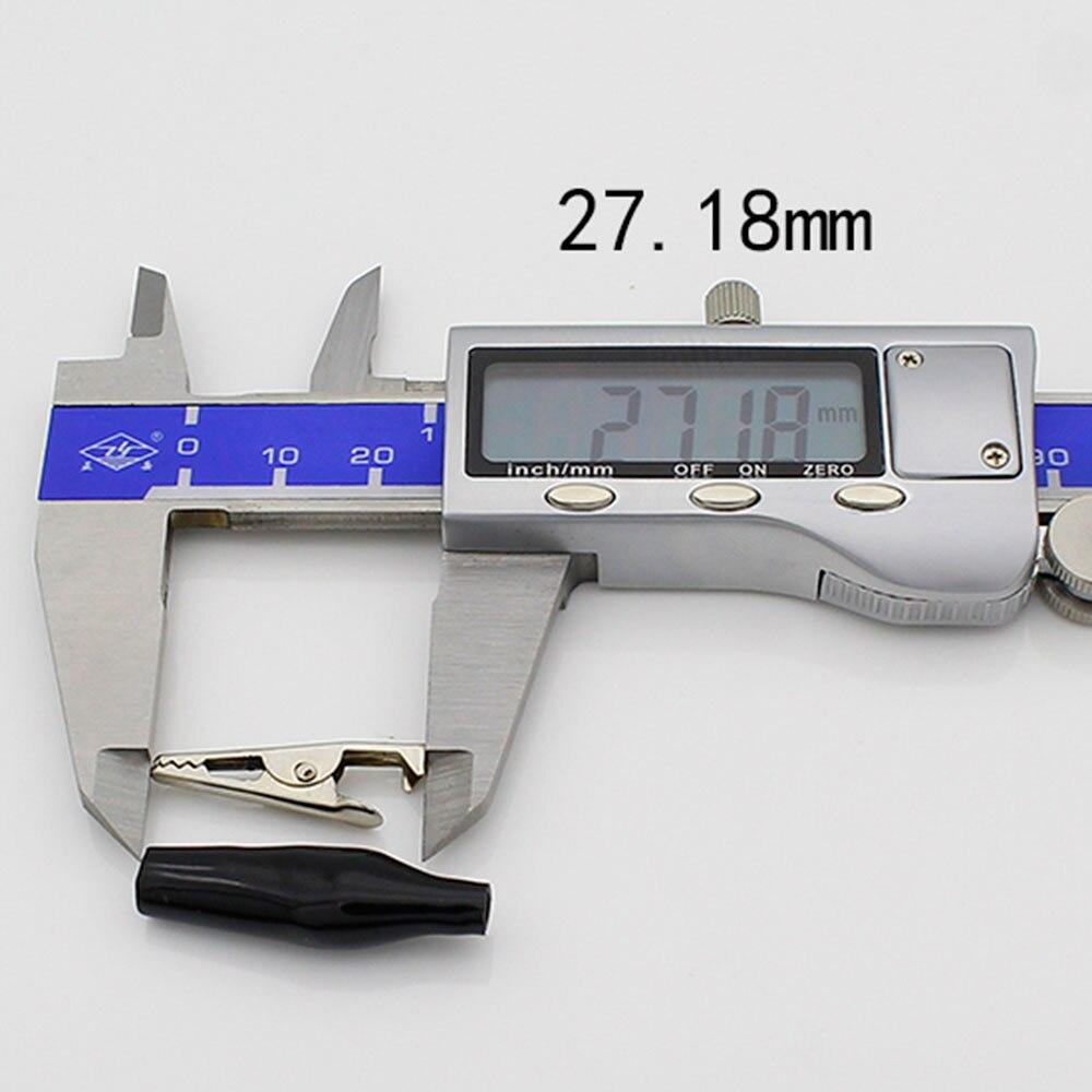 8 мм для тестового зонда зажим 20 шт. для тестового зонда крокодил зажим 20 шт. щуп-крокодил зажим Электрический