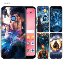 Silicone Case Cover for Huawei P20 P10 P9 P8 Lite Pro 2017 P Smart+ 2019 Nova 3i 3E Phone Cases Tardis Box Doctor Who DW(China)