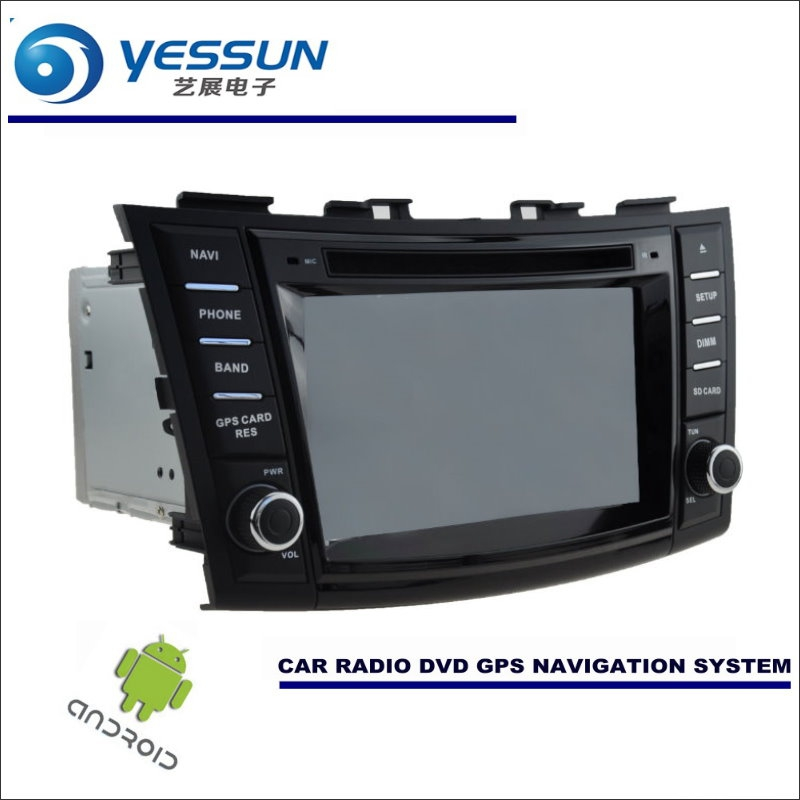 YESSUN Car Android Navigation System For Suzuki Ertiga / Swift - Radio Stereo CD DVD Player GPS Navi BT HD Screen Multimedia yessun car android navigation for opel astra j vauxhall holden gtc radio stereo cd dvd player gps navi screen multimedia