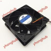 Emacro For SJ SG121238BS DC 12V 2.7A S7 S9 T9 L3 Server Cooler Fan violence Fan