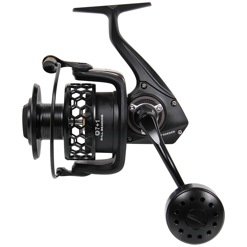 Tsurinoya TSP7000 8BB 4.9:1   Full Metal Fishing Reel Sea Reel Big Trolling Wheel Boat Reels Jig Wheel  Spinning Reel 1 65m 1 8m high carbon jigging rod 150 250g boat trolling fishing rod big game rods full metal reel seat sic guides eva handle