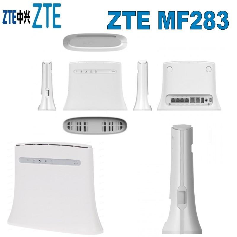 ZTE MF283+ 4G LTE Wireless Gateway plus with 2pcs 4g antennaZTE MF283+ 4G LTE Wireless Gateway plus with 2pcs 4g antenna