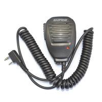 Оригинальный Baofeng UV5R ручной микрофон Динамик микрофон для Baofeng Портативный радио UV-5R BF-888S UV-82 BF-UVB3 плюс иди и болтай Walkie Talkie