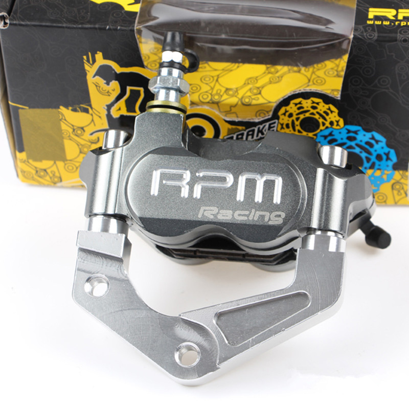 RPM Brand CNC Motorcycle Brake Calipers+200mm/220mm Disc Brake Pump Adapter Bracket Set For Yamaha Aerox Nitro JOG 50 rr BWS 100 for yamaha aerox nitro jog 50 rr bws 100 rpm brand cnc motorcycle brake calipers 200mm 220mm disc brake pump adapter bracket kit