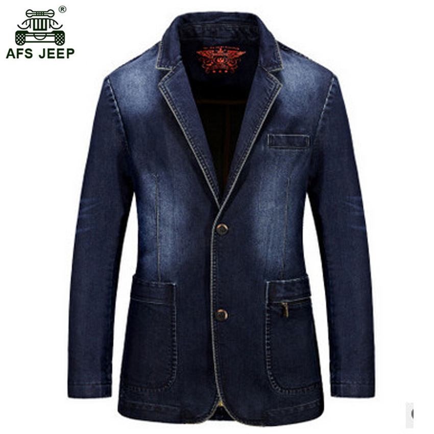 2018 hommes nouveau décontracté denim vestes hommes Slim rétro moto denim manteau couleur unie hommes jeans veste 125zr