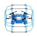 Mi vuelo caminar pared rc quadcopter drone 4ch 6 ejes con protector en forma de bola kvadrokopter dron rc helicóptero de control remoto
