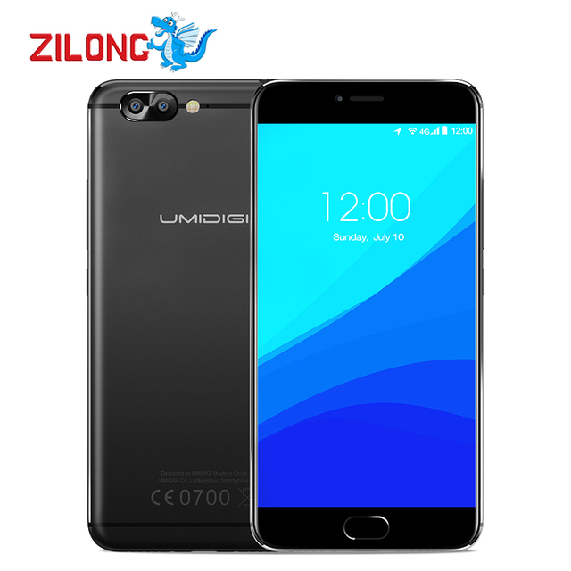 "Original UMI Umidigi Z Pro Auto Focus 3D Capture Dual Rear Camera Mobile Phone 5.5"" MTK Helio X27 Deca-core 4GB+32GB Smartphone"