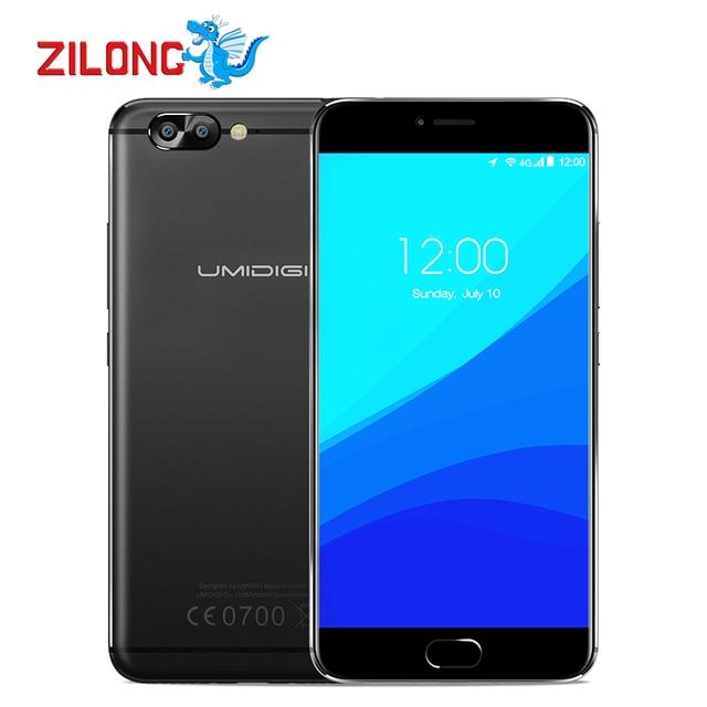 "Original UMI Umidigi Z Pro Auto Focus 3D Capture Dual Rear Camera Mobile Phone 5.5"" MTK Helio X27 Deca-core 4GB+32GB Smartphone"