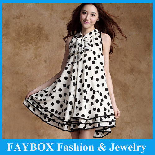 cac5d73c844b1 New arrival Dot Design fashion Cute Chiffon Knee length Casual Party  Pregnant Maternity Summer Dresses Women Clothing-in Dresses from Mother &  Kids on ...