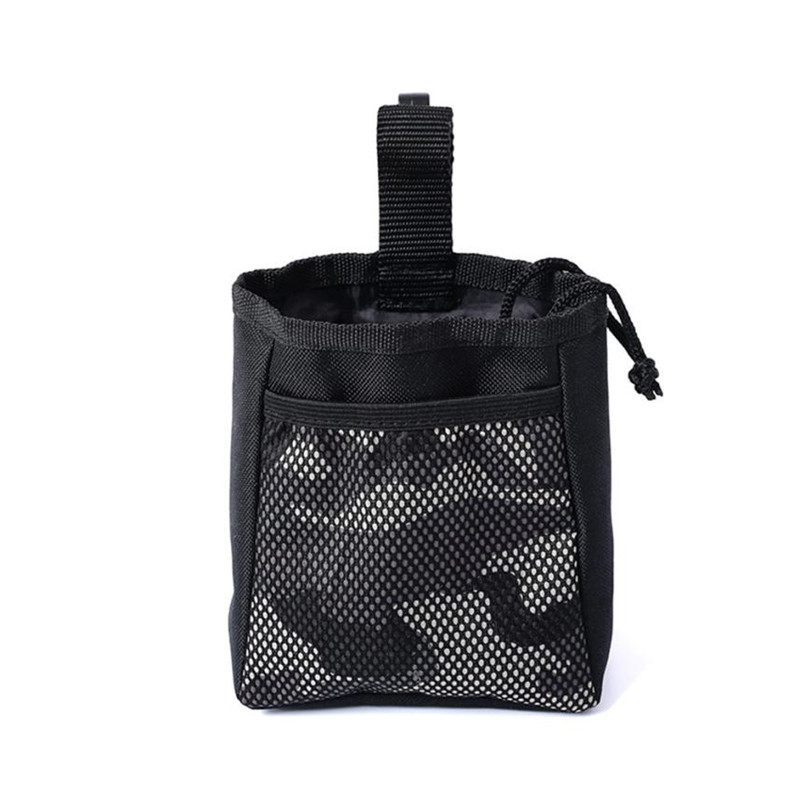 1PC Detachable Pet Dog Traning Feed Bags Drawstring Outdoor Carrier Snack Reward Pouch Waist Pocket Puppy Doggy Train Food Bags