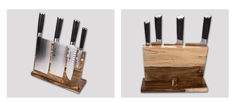 Strong Magnetic Knife Holder Wood Dry Anti-bacterial Knife Block Stand Knife Rack Cooking Frame Kitchen Accessories9