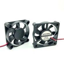 5CM cooler גוף קירור 5010 DC Brushless מאוורר 24V 12V 5V 50x50x10 50mm מעבד קירור מאוורר Heatsinks עבור מחשב