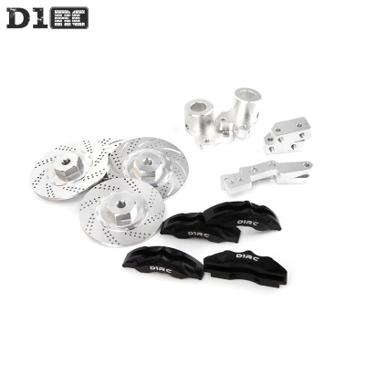 D1RC High Quality All Metal Simulate Disc Brake Kit With Clipers Specially For Rc Crawlers Traxxas