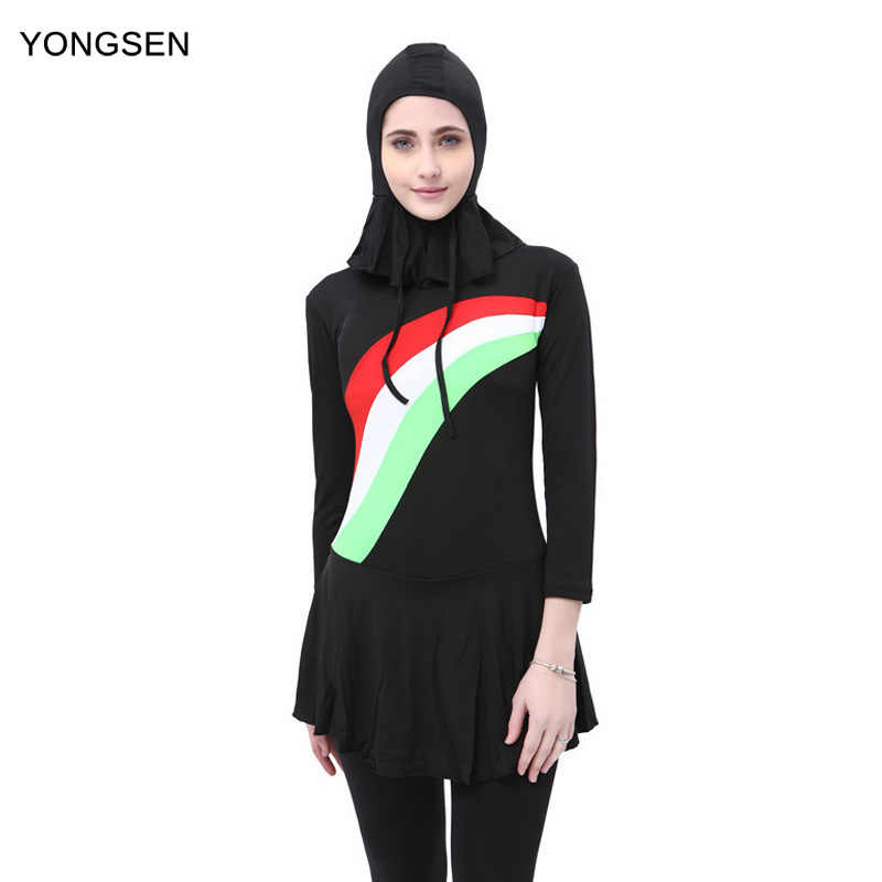 e2f8ef0fc3 ... Size. US  24.65. 0.0 (0). 0 Orders. YONGSEN 2018 Burkinis Muslim  Swimsuit Modest Clothing Islamic Separated Women Wear Long muslimah 3 piece  Hijab