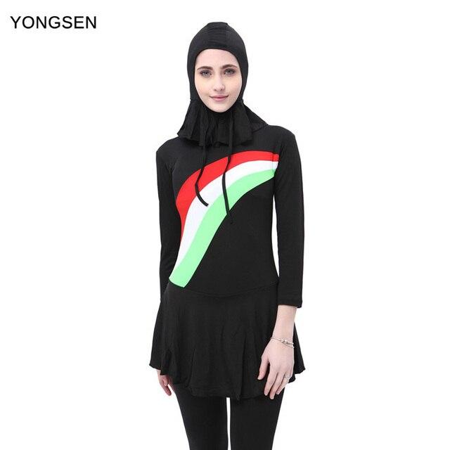 Modest 2018 Swimsuit Burkinis Muslim Yongsen Clothing Islamic uKclFJ3T15