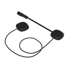 цена на Motorcycle Helmet Headset Wireless Intercom Moto Motorcycle Intercom Bluetooth Interphone Headset For Music Motorbike Handsfree