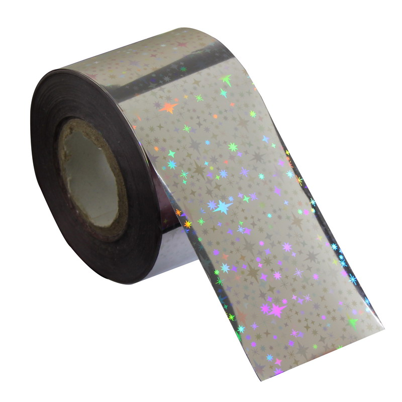 120*4cm New Arrival Transfer Nail Foil Glitter Silver Color Universe Beauty Decal Full Wrap Polish Care For Women Tip WY267 jinyushi for me909s 120 transfer card 2pcs 4g antenna 100% new