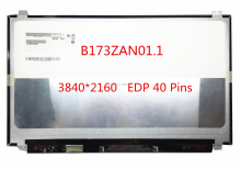 "Free shipping B173ZAN01.1 B173ZAN01.0 B173ZAN01.2 B173ZAN01.4 17.3""inch 4K Laptop Lcd Screen 3840*2160 EDP 40 Pins"
