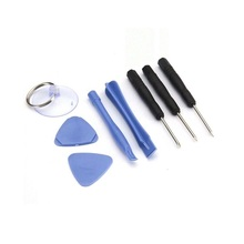 8pcs Professional Mobile Phone Repair Tools Kit Spudger Pry Opening LCD Screen Tool Screwdriver Set Pliers Suction Cup 21pcs set mobile phone repair tools kit spudger pry opening tool screwdriver set for iphone samsung phone hand tools set