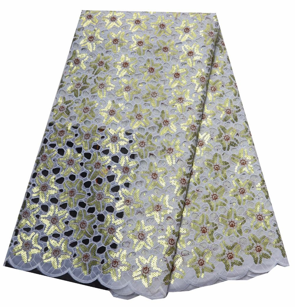 double organza lace with sequins purple nigerian lace fabrics for party dresses 2018 new arrival 5yard/lot P468 2