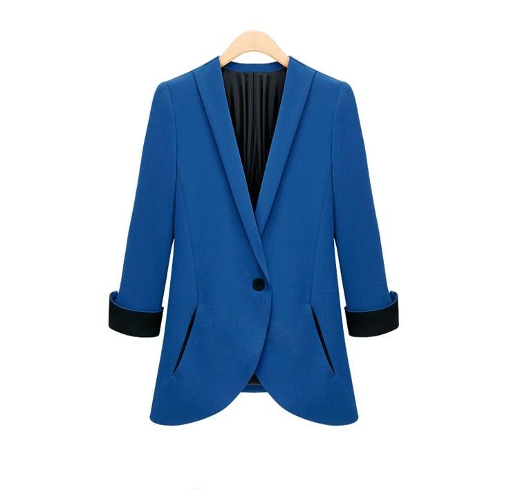 Frauen Blazer 2018 Neue Frühjahr Lässig Kleinen Anzug Weibliche Anzüge Frauen Mantel Blazer Shorts Einreiher Grundlegende Jacken Wwt9673 äRger LöSchen Und Durst LöSchen Blazer