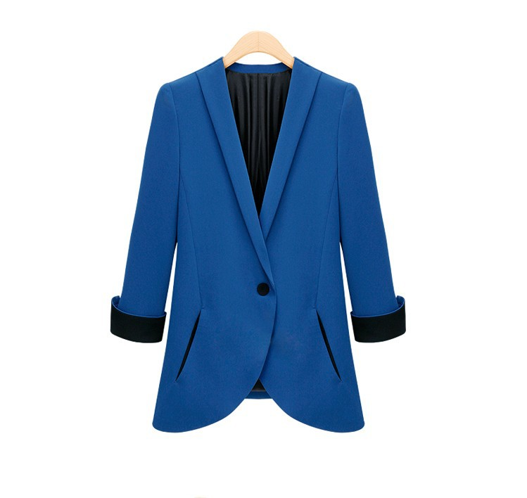Womens Blazer New Spring Casual Small Suit Female Suits Women Coat Blazers Shorts Single Breasted Basic Jackets Wwt9673