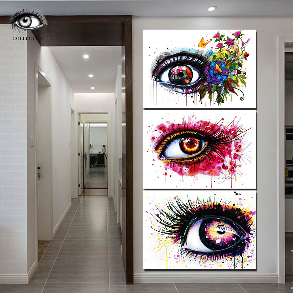 Purple Fire Abstract Canvas Art Cheap Wall Print Home Interior