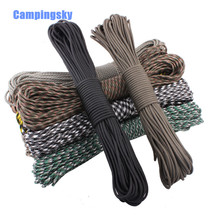 цена на 84 colors Paracord 550 Paracord Parachute Cord Lanyard Rope Mil Spec Type III 7 Strand 100 FT FREE SHIPPING