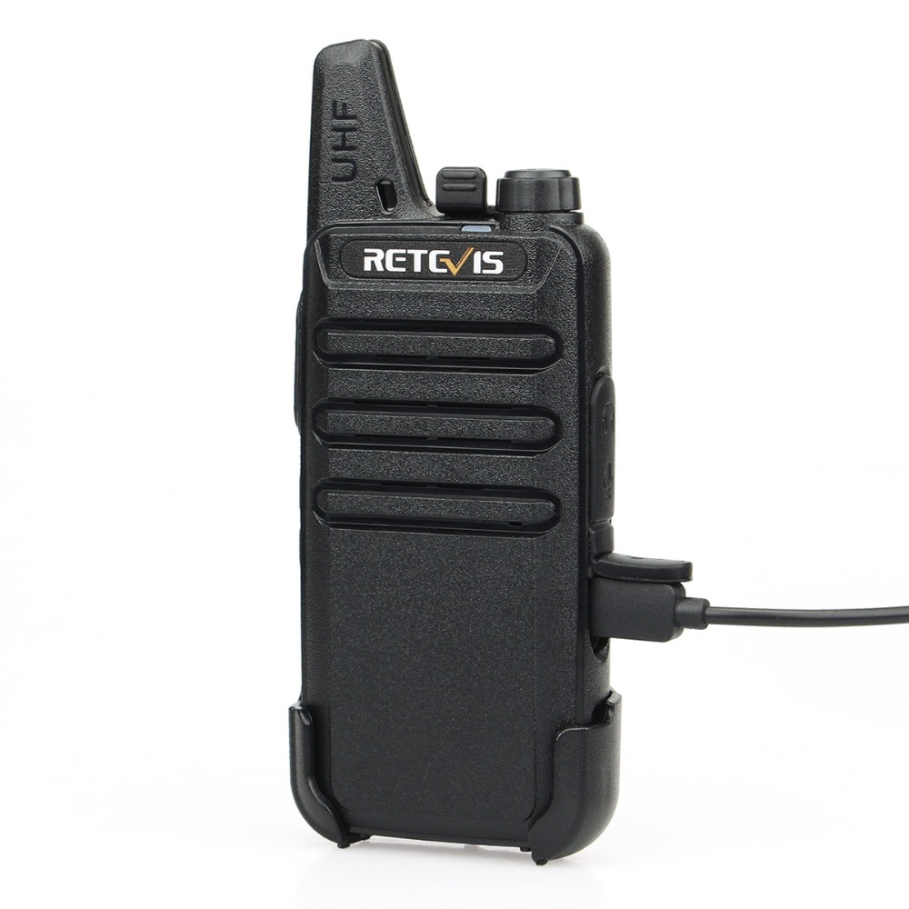 4 st Retevis RT22 Mini Walkie Talkie Radio 2W UHF VOX USB Laddning - Walkie talkie - Foto 5