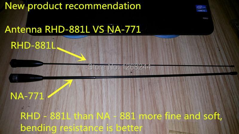 New NA-771 Dual Band SMA-F Radio Antenna For Baofeng UV-5R UV-3 KG-UVD1 KGUVD1P