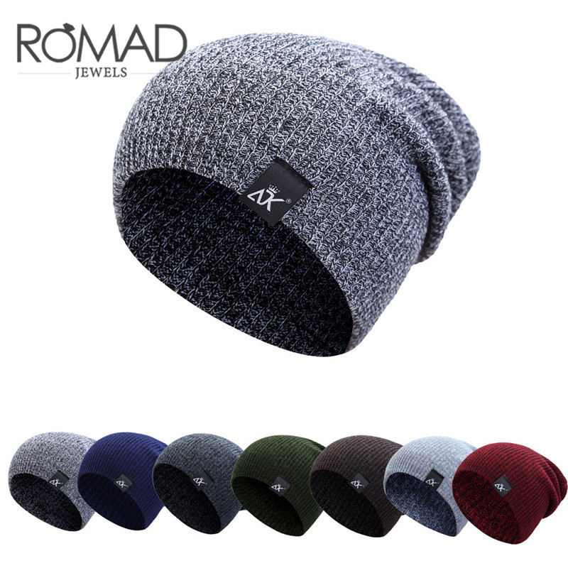 Fashion 7 Colors Men   Beanies   Hat Winter Caps For Men Cap Boys Thicken Hedging Cap Balaclava   Skullies   Warm Knit   Beanie   Women R5FD